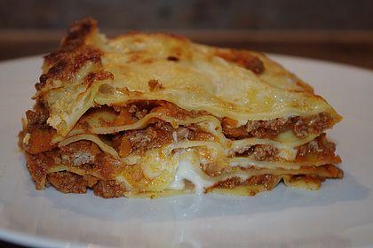 Rezeptbild zum Rezept Lasagne Bolognese