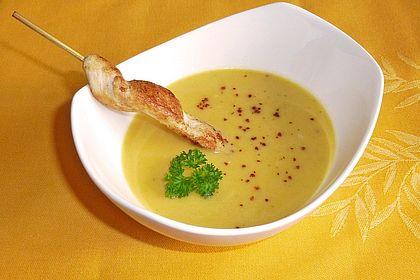 Rezeptbild zum Rezept Pastinaken - Süßkartoffelsuppe