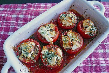 Rezeptbild zum Rezept Gefüllte Tomaten auf griechische Art