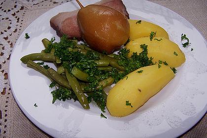 Rezeptbild zum Rezept Birnen, Bohnen und Speck