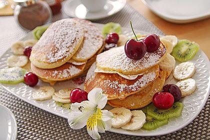 Rezeptbild zum Rezept Amerikanische Pancakes