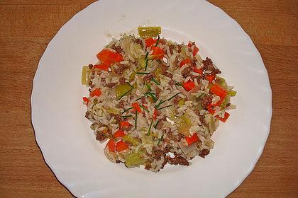 Rezeptbild zum Rezept Porree-Topf mit Möhren und Reis