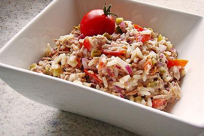 Rezeptbild zum Rezept Thunfisch - Reis - Salat