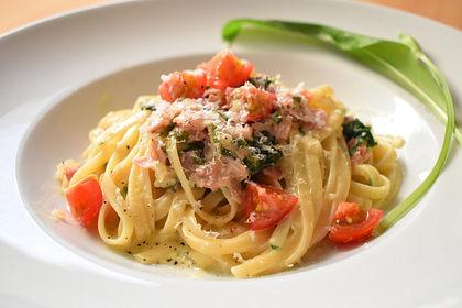 Rezeptbild zum Rezept Spaghetti mit Bärlauch
