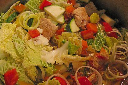 Rezeptbild zum Rezept Gemüse-Geflügel-Eintopf