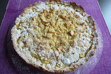 Apfeltorte / Apfelkuchen mit Apfelmus