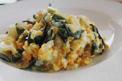 Rezeptbild zum Rezept Linsen-Mangold-Curry