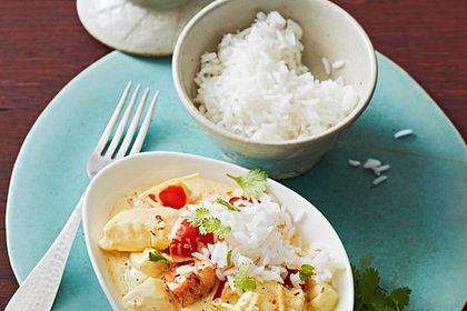 Rezeptbild zum Rezept Indisches Fisch-Kokos-Curry
