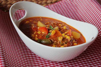 Rezeptbild zum Rezept Bunter Hackfleisch-Gemüse-Eintopf