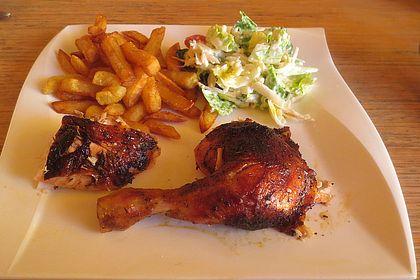 Rezeptbild zum Rezept Gegrilltes Hühnchen mit Kräutern