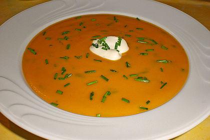 Rezeptbild zum Rezept Kartoffel-Kürbis-Suppe