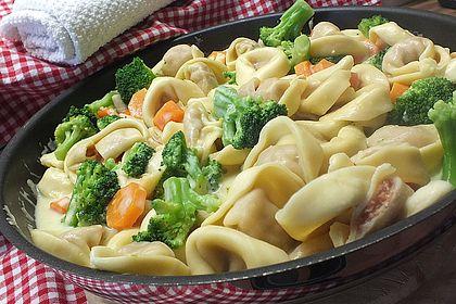 Rezeptbild zum Rezept Tortelloni in Käsesahnesoße