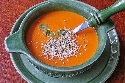 Rezeptbild zum Rezept Rote Linsen-Kokos-Suppe