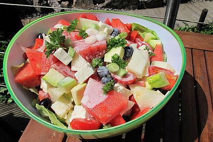 Rezeptbild zum Rezept Melonensalat mit Feta