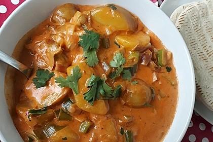 Rezeptbild zum Rezept Würziges Kartoffelcurry
