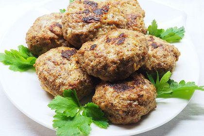 Rezeptbild zum Rezept Fleischküchle/Frikadellen aus dem Backofen à la Mäusle
