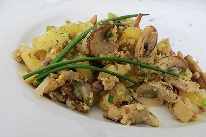 Rezeptbild zum Rezept Champignon-Kartoffel-Omelette