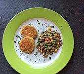 Schnelle Falafel aus Kichererbsenmehl
