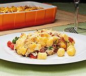 Italienischer Kartoffel-Gnocchi-Auflauf