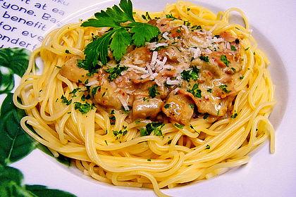 Rezeptbild zum Rezept Spaghetti mit Steinpilzen