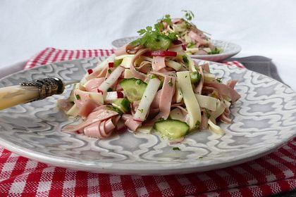 Rezeptbild zum Rezept Wurstsalat mit Radieschen