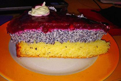 Mohn Quark Torte Mit Preiselbeeren Von Afikocht Chefkoch De
