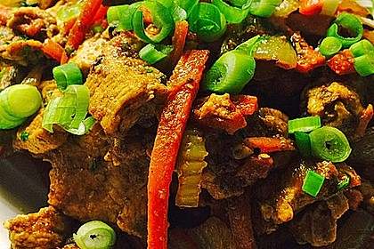 Rezeptbild zum Rezept Low Carb Hähnchencurry indische Art