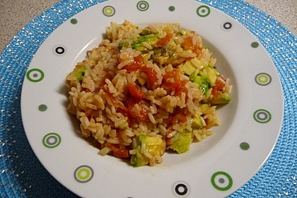 Rezeptbild zum Rezept Avocado-Reis