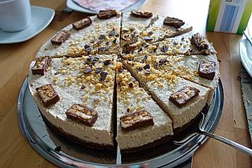 Snickers-Torte