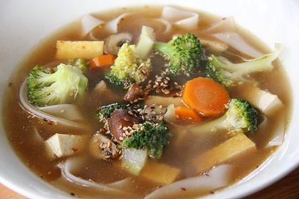 Rezeptbild zum Rezept Vietnamesische Pho (vegane Version)