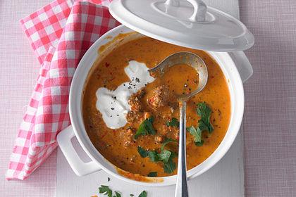 Rezeptbild zum Rezept Ajvar-Suppe