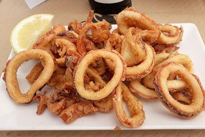 Rezeptbild zum Rezept Frittierte Calamari