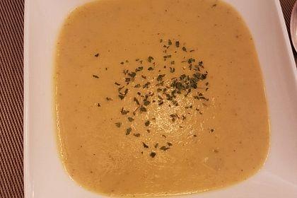 Rezeptbild zum Rezept Kohlrabi-Zucchini-Kokossuppe