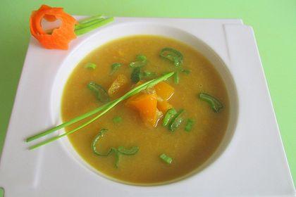 Rezeptbild zum Rezept Rhabarber-Paprika-Süppchen