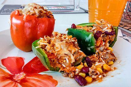 Rezeptbild zum Rezept Gefüllte Paprika – Mexican Style