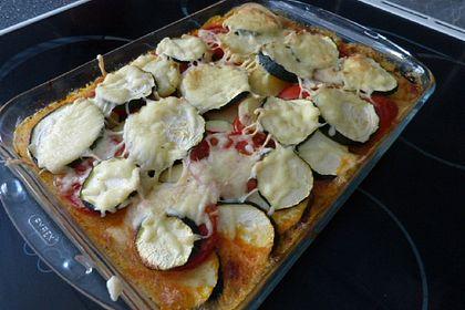 Rezeptbild zum Rezept Kartoffel-Zucchini-Hackauflauf