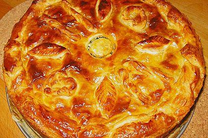 Rezeptbild zum Rezept Blätterteig - Pie mit Hackfleisch - Spinat Füllung