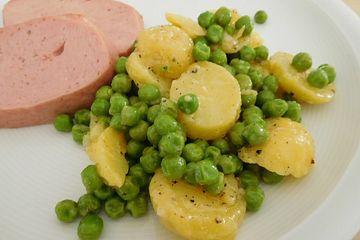 Kartoffel-Erbsen-Salat