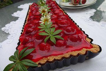 Erdbeertarte mit Crème Patissière