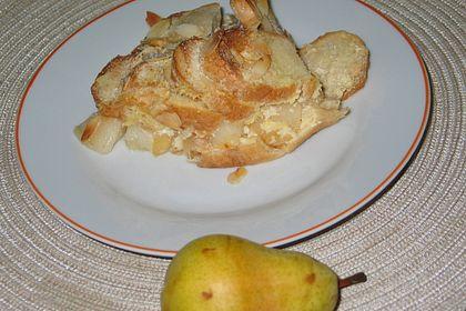 Rezeptbild zum Rezept Ofenschlupfer mit Birnen
