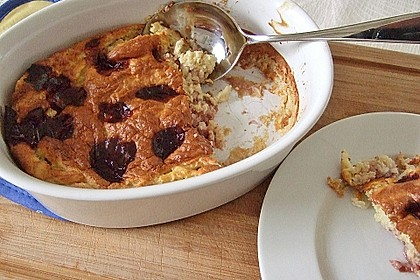 Rezeptbild zum Rezept Reisauflauf mit Kirschen