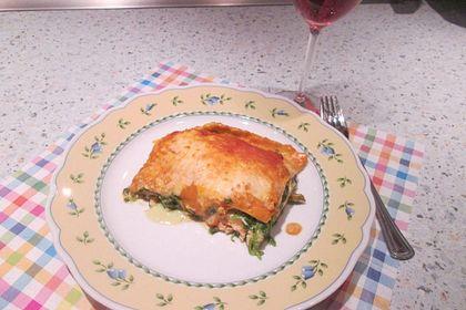 Rezeptbild zum Rezept Lachs-Lasagne mit Spinat