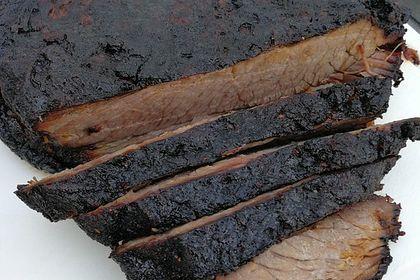 Perfekte Spareribs Gasgrill : Beef brisket rinderbrust vom gasgrill von albi chefkoch