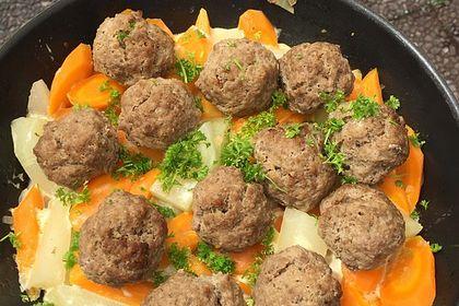 Rezeptbild zum Rezept Rinderhackbällchen ohne Brot und Ei