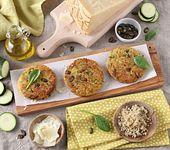 Veggie-Burger mit Grana Padano