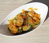 Möhren-Zucchini-Gemüse