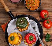 Gefüllte Paprika vegetarisch