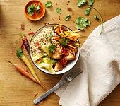 Hähnchen-Reis-Bowl