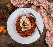 Ratatouille-Reis-Pfanne mit Hähnchenbrust