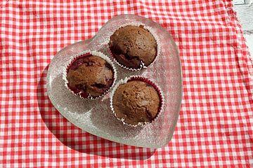 Saftige Rum-Kirsch-Muffins